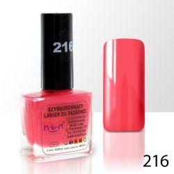 Lak na nehty NTN - 216 růžový - 10ml (A)