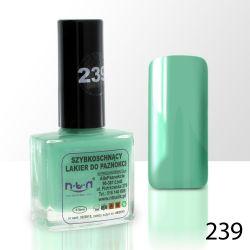 Lak na nehty NTN - 239 mátový - 10ml (A)