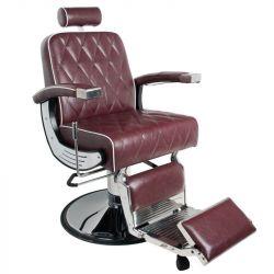Holičské (barber) křeslo GABBIANO IMPERIAL bordó (AS)