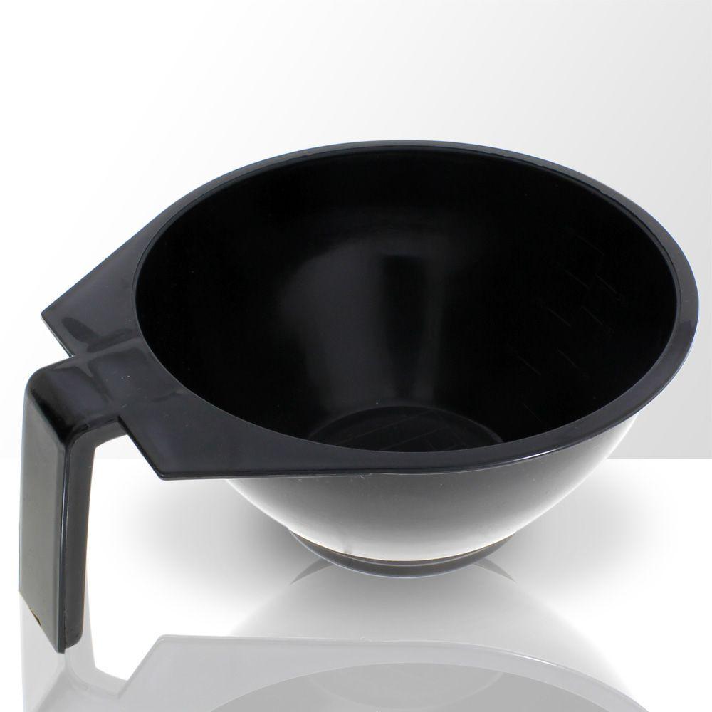 Miska na míchání barev, černá
