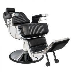 Barbers křeslo GABBIANO ROYAL černé, holičské křeslo