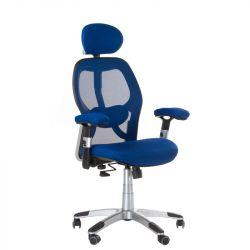 Ergonomické křeslo CorpoComfort BX-4144 modré (BS)