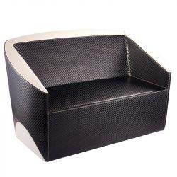 Sofa do čekárny GABBIANO PARIS černo-béžové (AS)