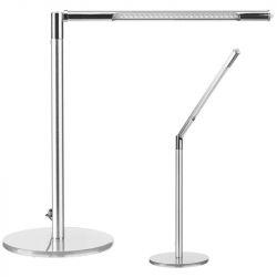 Stolní lampa LED ULTRA SLIM stříbrná (AS)