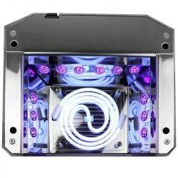 UV LED + CCFL lampa DIAMOND 2v1 36W TIMER + SENSOR bílá