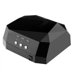 UV LED + CCFL lampa DIAMOND 2v1 36W TIMER + SENSOR černá
