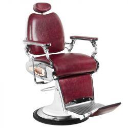 Barbers křeslo MOTO STYLE bordó (AS)