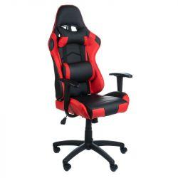Kancelářská židle RACER CorpoComfort BX-3700 červená (BS)