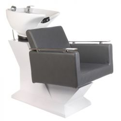 Kadeřnický mycí box MILO BH-8025 šedý (BS)