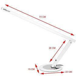 Stolní lampa SLIM LED bílá