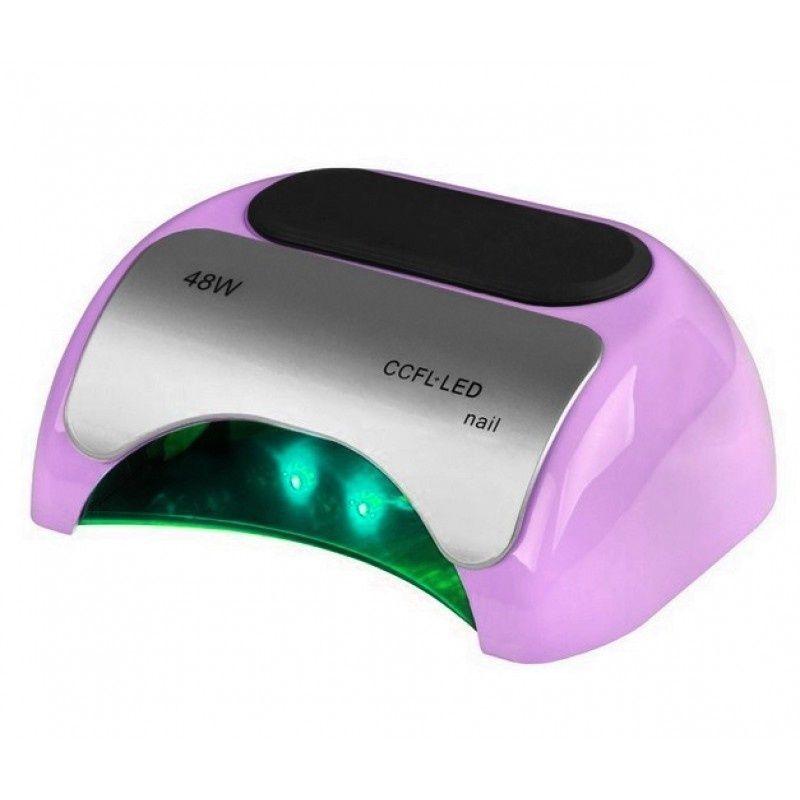 Lampa PROFESSIONAL 2v1 UV LED+CCFL 48W TIMER+SENSOR fialová