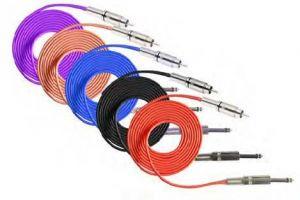 RCA Silicone Clip Cord - 2,4 m (NATS)