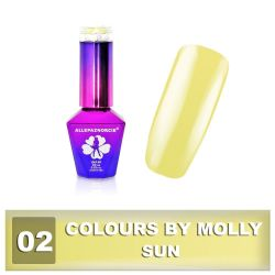02 Gel lak Colours by Molly 10ml - Sun (A)