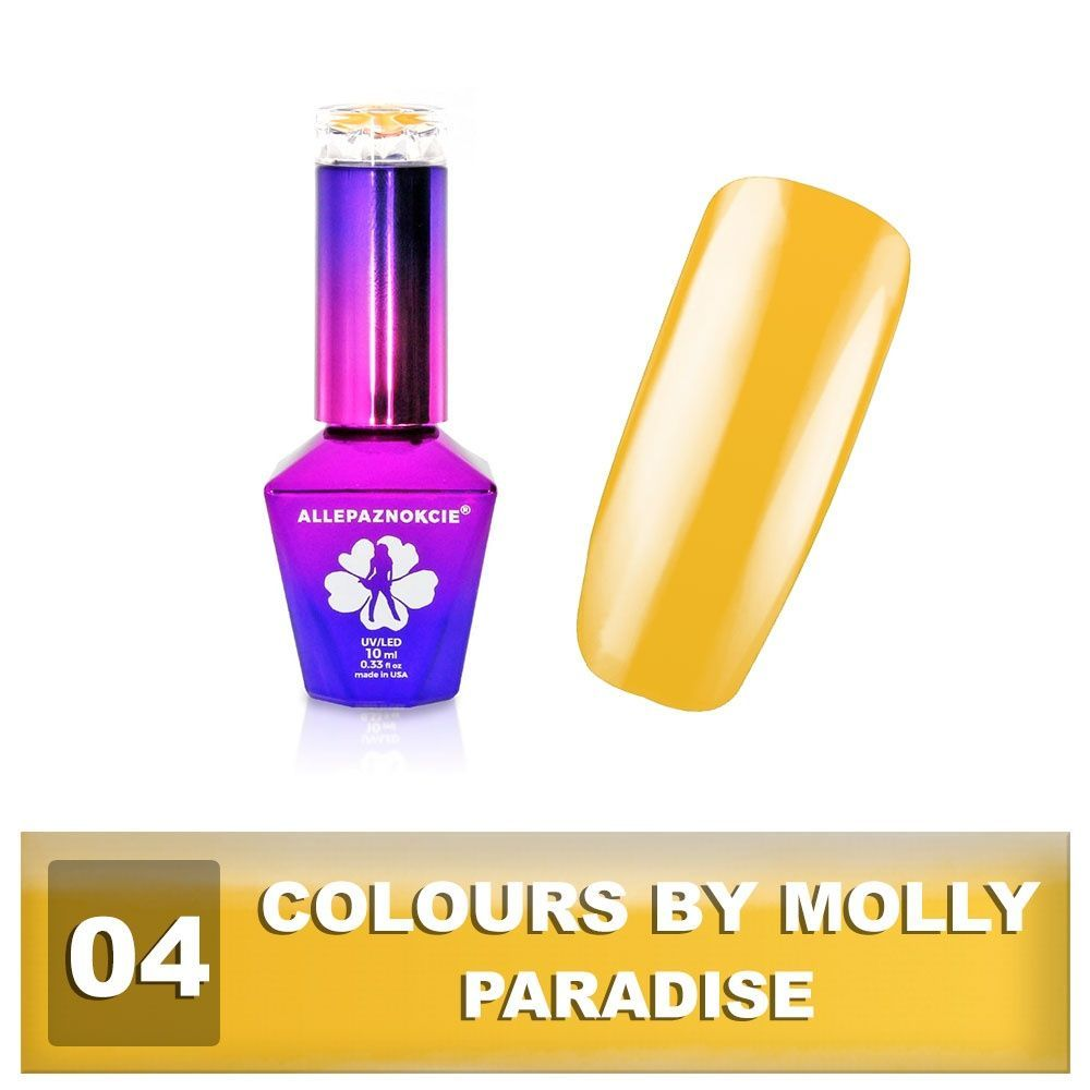 Gel lak Colours by Molly 10ml - Paradise