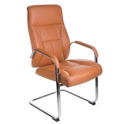 Konferenční křeslo CorpoComfort BX-5085C oranžovo-hnědé (BS)