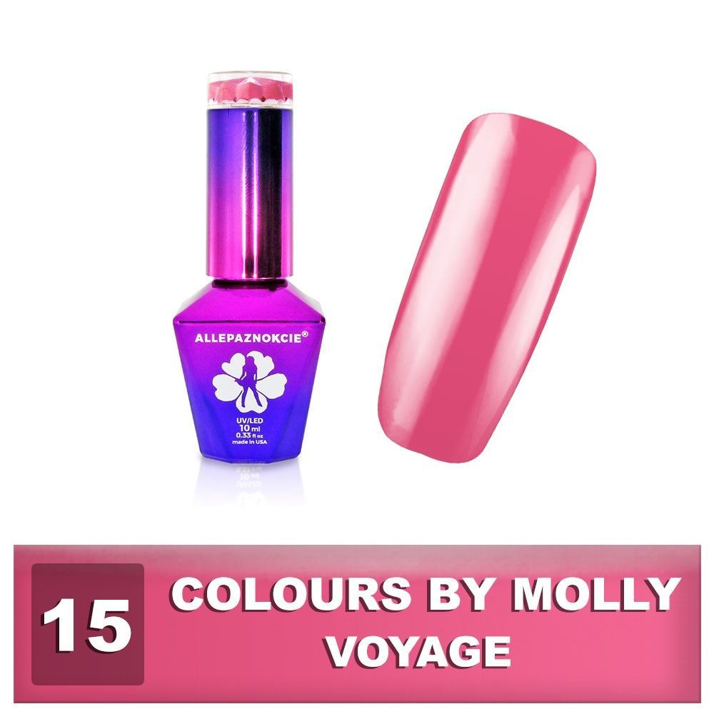 Gel lak Colours by Molly 10ml - Voyage