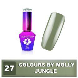 27 Gel lak Colours by Molly 10ml - Jungle (A)