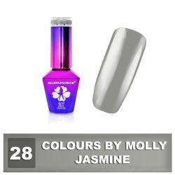 28 Gel lak Colours by Molly 10ml - Jasmine (A)