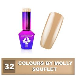 32 Gel lak Colours by Molly 10ml - Souflet (A)