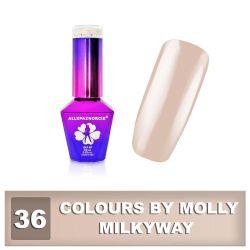 36 Gel lak Colours by Molly 10ml - Milkyway (A)