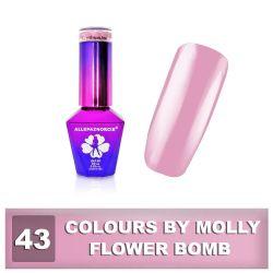 43 Gel lak Colours by Molly 10ml - Flower Bomb (A)