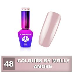 48 Gel lak Colours by Molly 10ml - Amore (A)