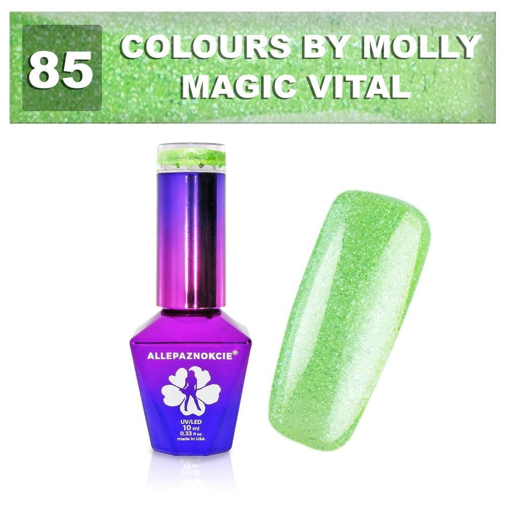 Gel lak Colours by Molly 10ml - Magic Vital