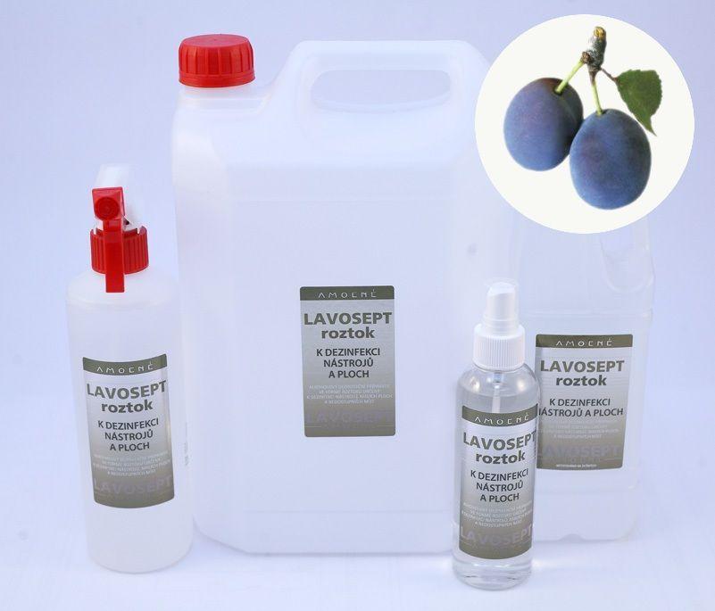 Lavosept® dezinfekce na nástroje a plochy 500 ml rozprašovač - aroma trnka
