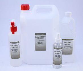 Dezinfekce na nástroje a plochy 500 ml rozprašovač - bez aroma (AM)