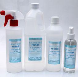 Dezinfekce na ruce 1000 ml (náhradní náplň) - bez aroma (AM)