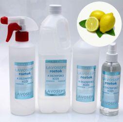 Dezinfekce na ruce 1000 ml (náhradní náplň) - citronové aroma (AM)