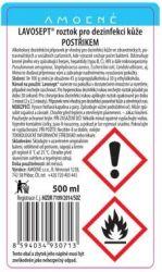 Lavosept® roztok - dezinfekce 500 ml (náhradní náplň) - bez aroma