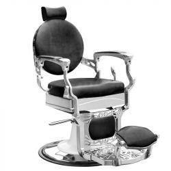 Barbers křeslo GABBIANO PRESIDENT černé (AS)