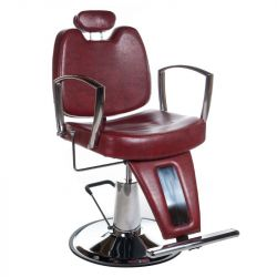 Barbers - holičské křeslo HOMER II BH-31275 červené (BS)