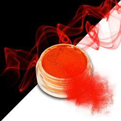 Nehtový pyl SMOKE NAILS - smoke efekt 06 NEON DARK ORANGE (A)