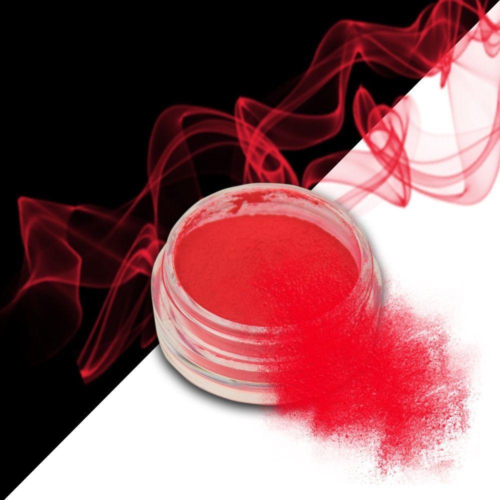 Nehtový pyl SMOKE NAILS - kouřový efekt 07 NEON RED GRAPEFRUIT