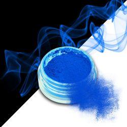 Nehtový pyl SMOKE NAILS - smoke efekt 12 NEON BLUE (A)