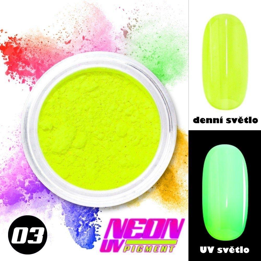 NEON UV pigment - neonový pigment v prášku 03
