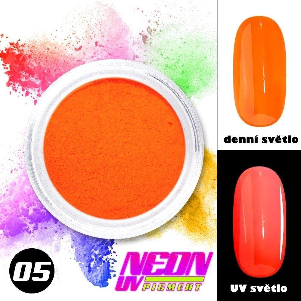 NEON UV pigment - neonový pigment v prášku 05