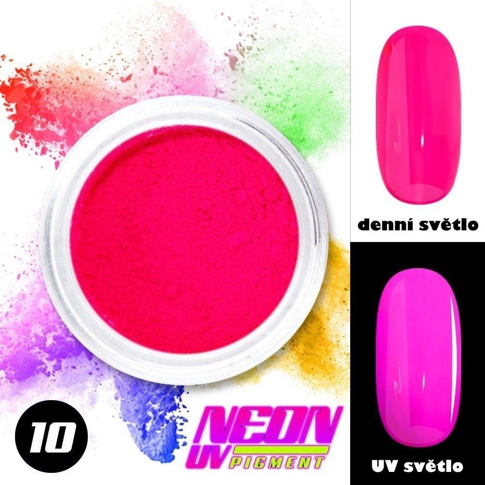 NEON UV pigment - neonový pigment v prášku 10