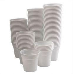 Jednorázové pohárky na vodu - 80ml /100ks/ (KW)