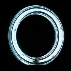 """Prstencová lampa RING LIGHT 18"""" 55W FLUORESCENT se stativem bílá"""