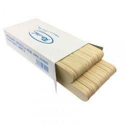 Špachtle  na aplikaci vosku - dřevěné 100ks (AS)