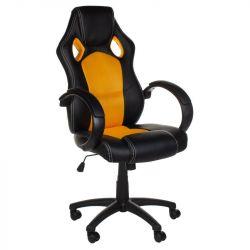Hráčské / kancelářské křeslo Racer CorpoComfort BX-2052 oranžové (BS)