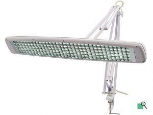 Lampa kosmetická / dílenská k uchycení ke stolu 3x T5 14W