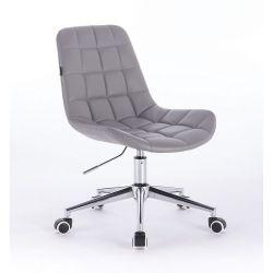 Židle na kolečkách HR590K šedá (V)