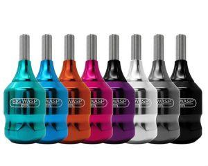 BIGWASP Click Cartridges Tattoo Grip 30 mm - fialový