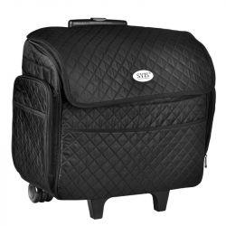 Černorůžový kosmetický kufr SA938