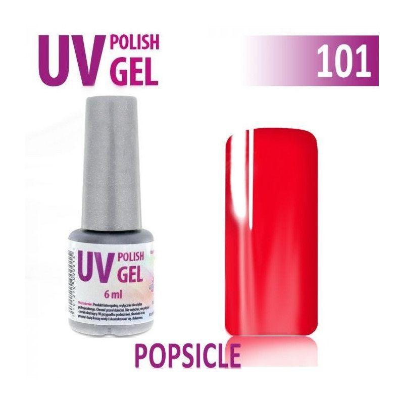 101.UV g el lak na nehty hybridní POPSICLE 6 ml