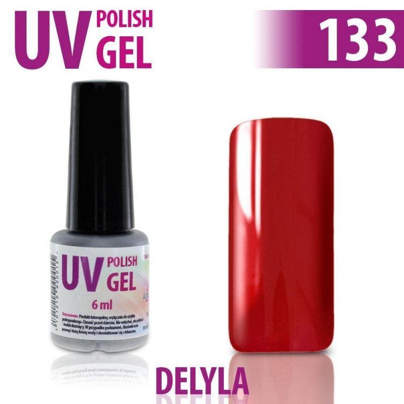 133.UV gel lak na nehty hybridní DELYLA 6 ml